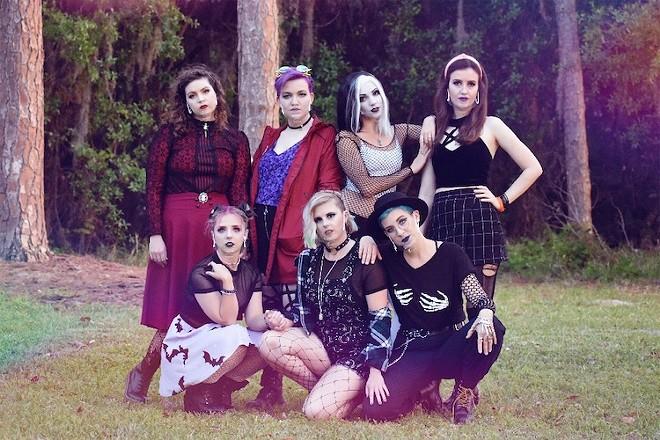 The cast of 'Hexed' - PHOTO COURTESY CELEBRATION THEATRE COMPANY