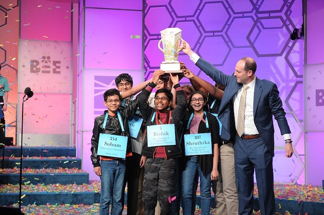 2019 Spelling Bee Finalists - PHOTO COURTESY SCRIPPS NATIONAL/FACEBOOK