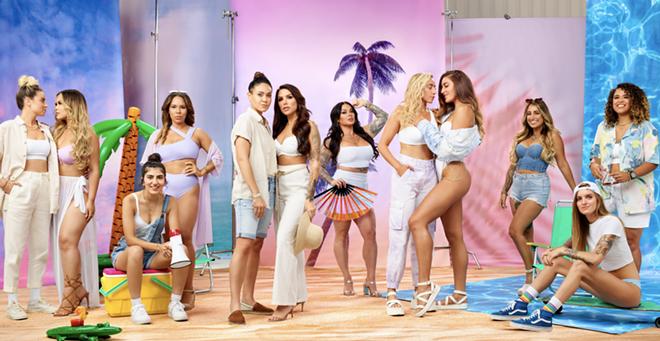 Amazon Prime Video announced a new lesbian reality series called 'Tampa Baes.' - PHOTO VIA AMAZON PRIME/TWITTER