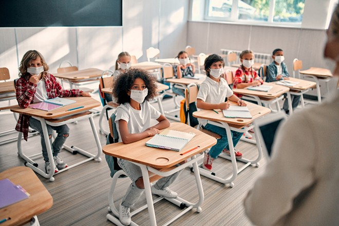 Two school districts in Florida have reversed course on mask mandates following Gov. Ron DeSantis' executive order. - ADOBE