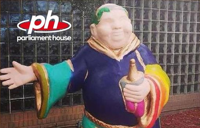 Parliament House is asking for the return of their monk statue before the opening of their new location. - SCREENSHOT VIA INSTAGRAM/PARLIAMENT HOUSE