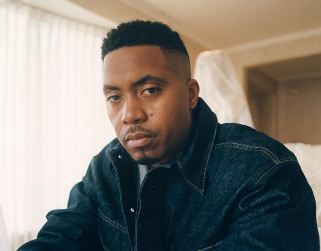 Nas is the biggest name from the first phase of the Gasparilla Music Festival lineup. - PHOTO VIA FACEBOOK/NAS