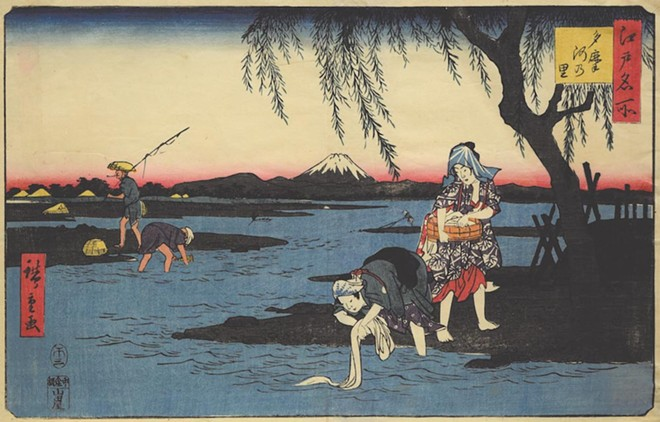 'Floating Beauty: Women in the Art of Ukiyo-E' at the Mennello Museum - IMAGE COURTESY OF THE MENNELLO MUSEUM