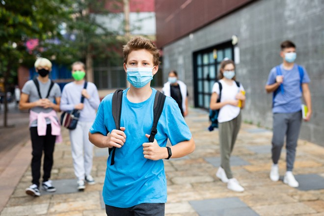 OCPS will require all students to wear masks, starting Monday. - ADOBE