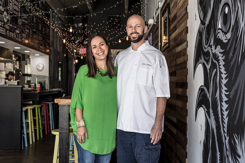 Juliana Calloway runs Black Rooster Taqueria with her husband, John. - PHOTO BY ROB BARTLETT