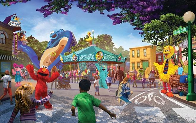 Sesame Place San Diego - IMAGE VIA SEAWORLD