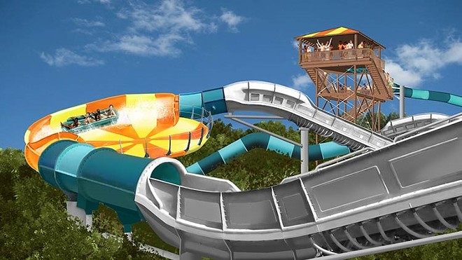 Water Country USA's Cutback Water Coaster - IMAGE VIA BUSCH GARDENS WILLIAMSBURG