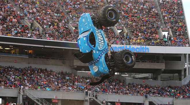 PHOTO COURTESY MONSTER JAM/BISBEE AND COMPANY