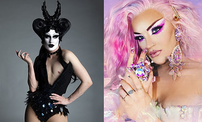 Gottmik  (left) and Kylie Sonique Love (right) - PHOTOS COURTESY COME OUT WITH PRIDE