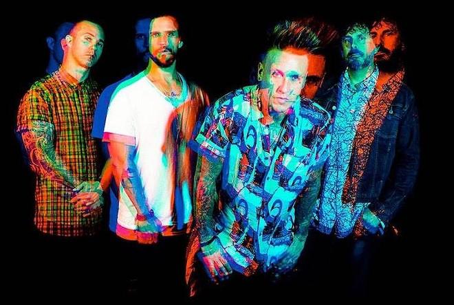 Ersthwhile Rebel Rock headliners Papa Roach - PHOTO COURTESY PAPA ROACH/FACEBOOK