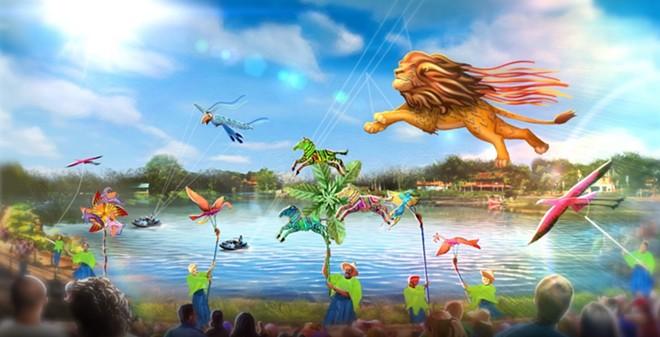 Disney KiteTails, debuting in October at Disney's Animal Kingdom, as part of the 50th anniversary - IMAGE VIA DISNEY