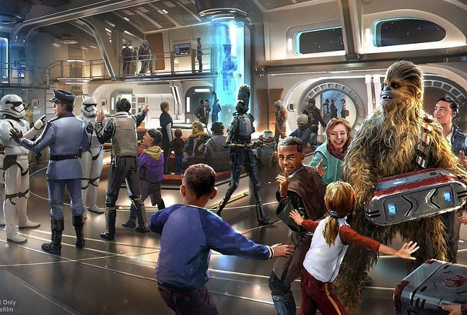 Galaxy Starcruiser is expected to open on March 1. - RENDERING VIA LUCASFILM/WALT DISNEY WORLD