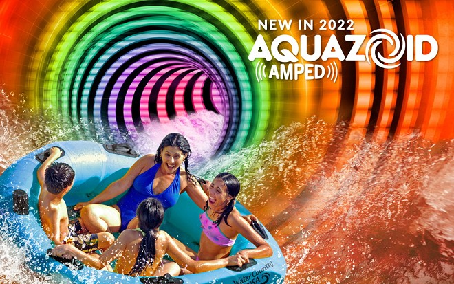 Aquazoid Amped will open at Water Country USA in 2022 - IMAGE VIA BUSCH GARDENS WILLIAMSBURG