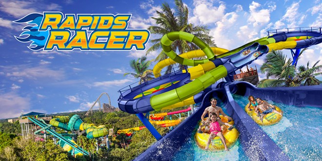 Rapids Racer will open at Tampa's Adventure Island in 2022 - IMAGE VIA BUSCH GARDENS TAMPA