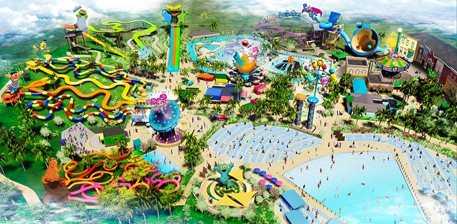The former Aquatica San Diego will reopen as Sesame Place in March 2022. - IMAGE VIA SESAME PLACE SAN DIEGO