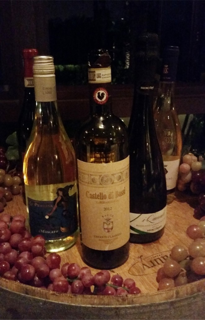 "Featured wines for ""An Evening with George Miliotes"""