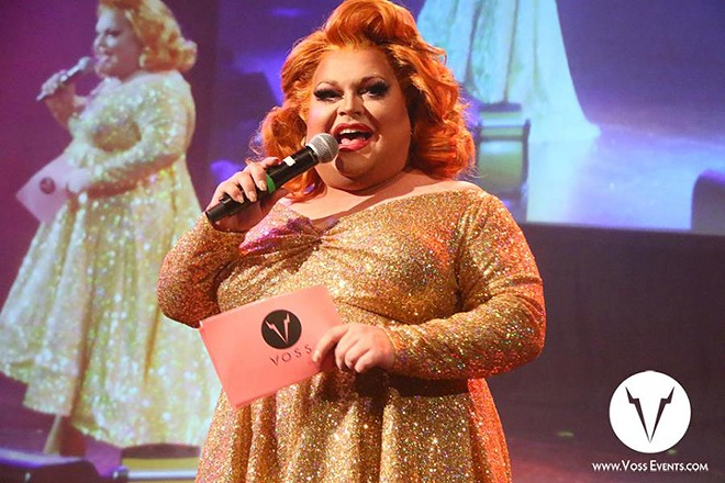 Ginger Minj - PHOTO VIA FACEBOOK