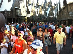 Muggles still fill the Wizarding World following Harry Potter's box-office win
