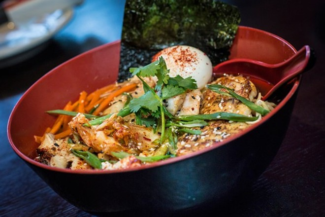 Baoery will dish up its last bowl of ramen on March 31 - PHOTO BY ROB BARTLETT