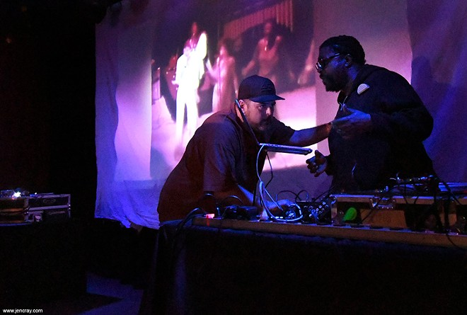 DJ BMF and Questlove at the Social - JEN CRAY