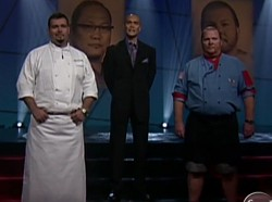 Treviño v. Batali on Iron Chef America