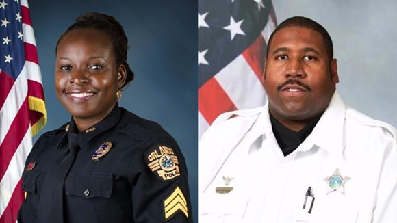 Orlando Police Lt. Debra Clayton/Orange County Deputy First Class Norman Lewis