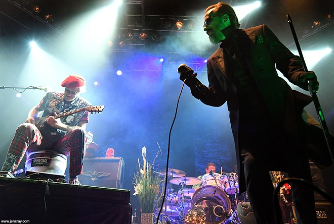 The Damned at House of Blues - JEN CRAY