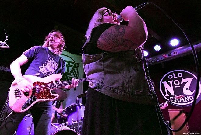 Sheer Mag at Will's Pub - JEN CRAY