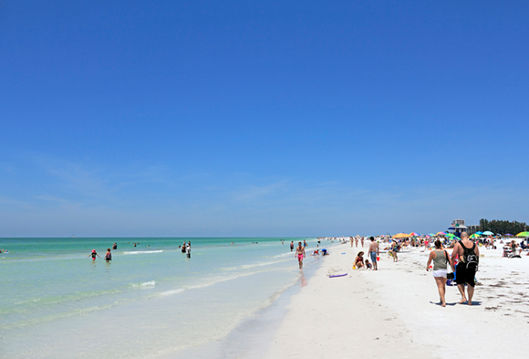 Three florida beaches named 39 best in america 39 by dr beach for Nice beaches in usa