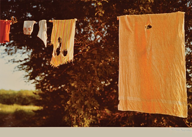'Untitled,' 1977 - BY WILLIAM EGGLESTON, COLLECTION OF THE UNIVERSITY OF MISSISSIPPI MUSEUM AND HISTORIC HOUSES, GIFT OF DR. WILLIAM R. FERRIS.