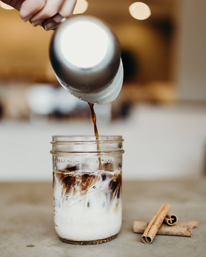 Cinnamon Toast Crunch cold brew - PHOTO VIA DOWNTOWN CREDO/FACEBOOK