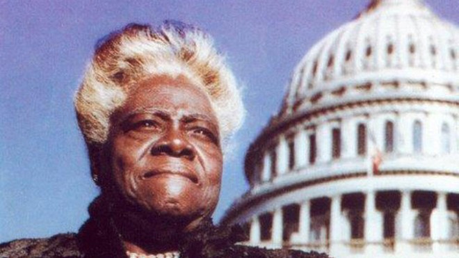 SCR 1360 proposes replacing the statue of Confederate Gen. Edmund Kirby Smith with one of educator Mary McLeod Bethune. - PHOTO VIA FORWARD FLORIDA
