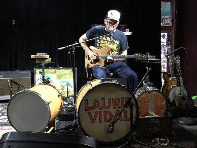 Lauris Vidal at Will's Pub