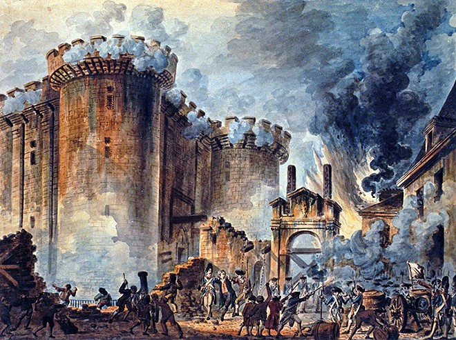 """Storming of the Bastille"" - JEAN-PIERRE HOUËL"