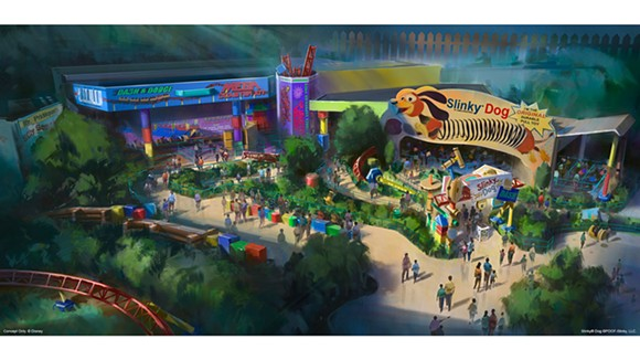 TOY STORY LAND | IMAGE VIA DISNEY