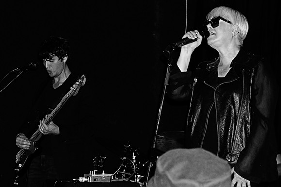 Cindy Wilson at Will's Pub - JIM LEATHERMAN
