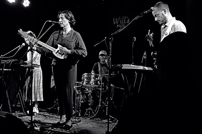 Laetitia Sadier Source Ensemble at Will's Pub - JIM LEATHERMAN