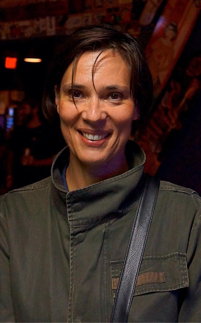 Laetitia Sadier at Will's Pub - JIM LEATHERMAN