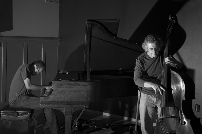 Matthew Shipp and Michael Bisio - PHOTO BY MAREK LAZARSKI VIA MICHAELBISIO.COM