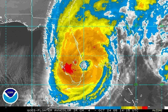 Hurricane Wilma - PHOTO VIA NWS