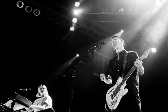 Tigers Jaw at House of Blues - CARLO CAVALUZZI