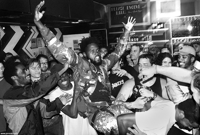 Ho99o9 live at Spacebar - PHOTO BY JEN CRAY FOR ORLANDO WEEKLY