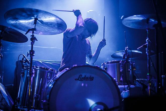 Russian Circles at Hard Rock Live - JAMES DECHERT