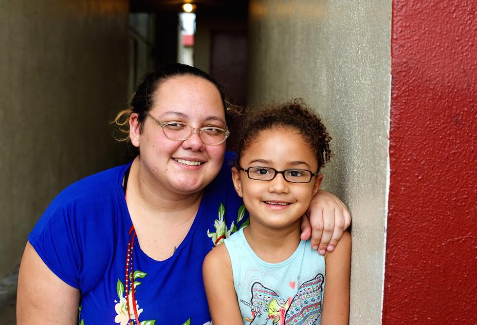 Juanita and Jaymaris Roman, two generations of motel life