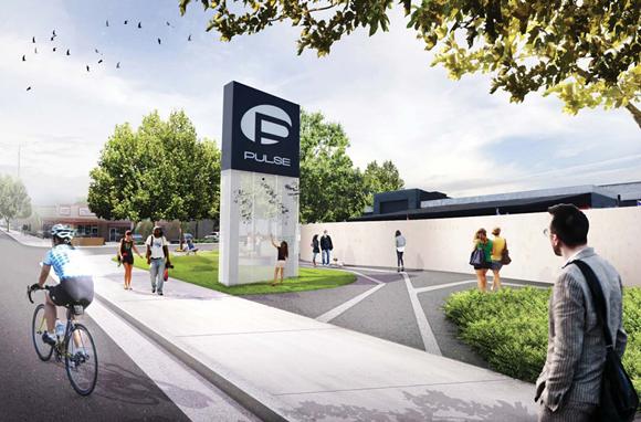 A rendering of the Pulse interim memorial - PHOTO VIA ONEPULSE FOUNDATION