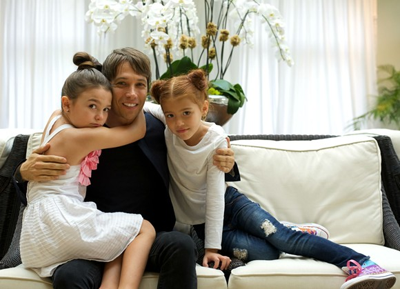 From left to right: Brooklynn Prince, director Sean Baker and Valeria Cotto. - PHOTO BY MONIVETTE CORDEIRO
