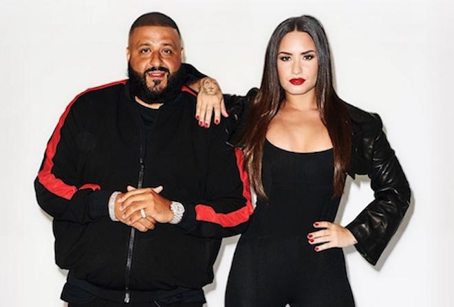 Demi Lovato and DJ Khaled