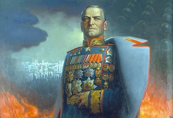 Marshal Georgy Zhukov - KONSTANTIN VASILYEV