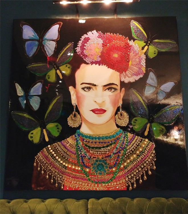 Frida Kahlo artwork - FAIYAZ KARA