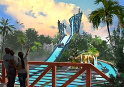 Infinity Falls- Coming to SeaWorld Orlando in 2018 - PHOTO VIA SEAWORLD